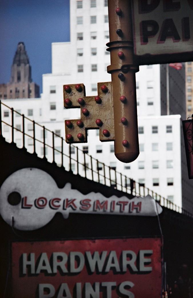 Ernst Hass - Locksmith Sign