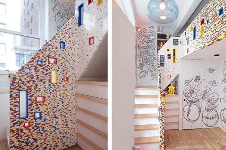Escalera de 20000 piezas de LEGO - I-Beam Design