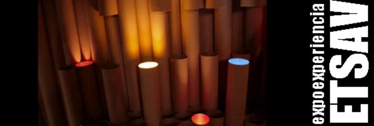 Expoexperiencia. Pabellón tubos de cartón - ETSAV