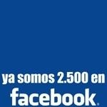 Somos 2.500 en Facebook