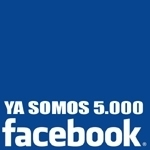 Somos 5.000 en Facebook !!!