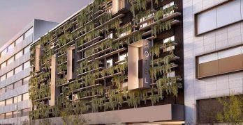 Fachada verde cubierta vegetal