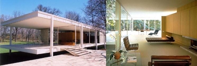 Casa Farnsworth - Ludwig Mies van der Rohe