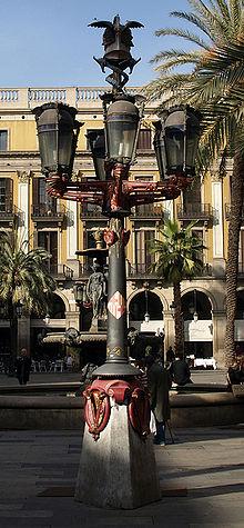 Farola de Gaudí