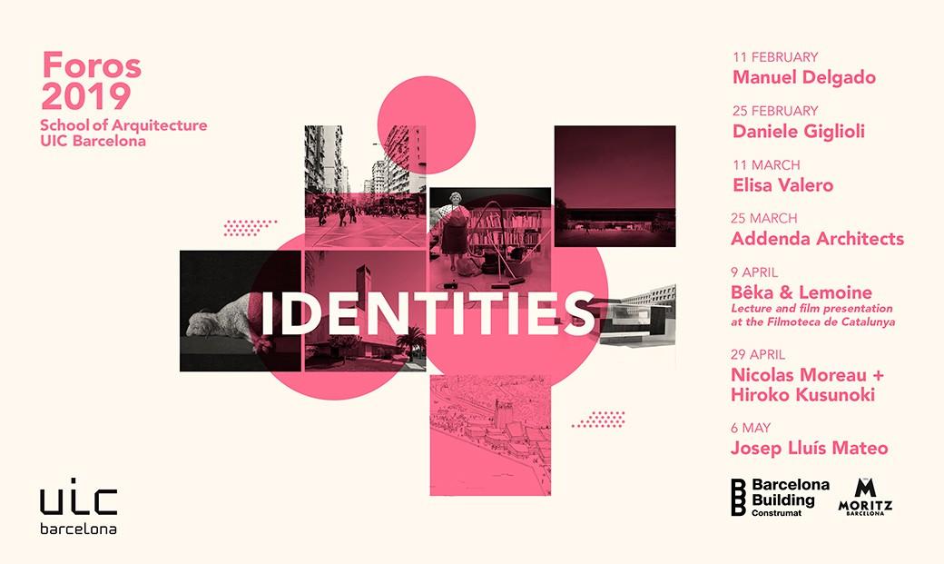 Foros UIC Barcelona School of Architecture 2019