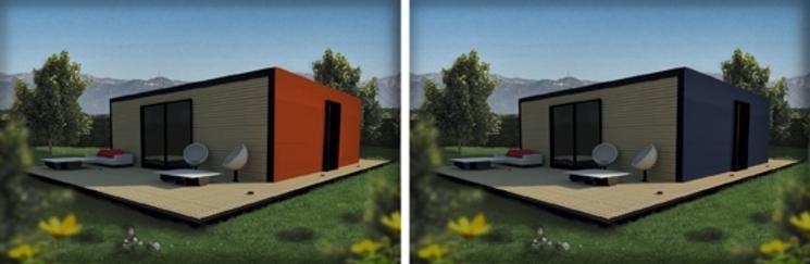 Futuria home una vivienda moderna y modular - Casas de panel sandwich ...