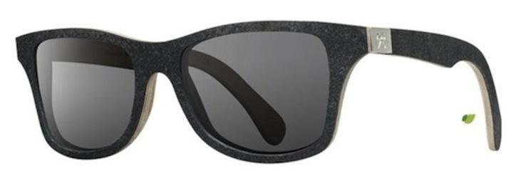 gafas de piedra negra