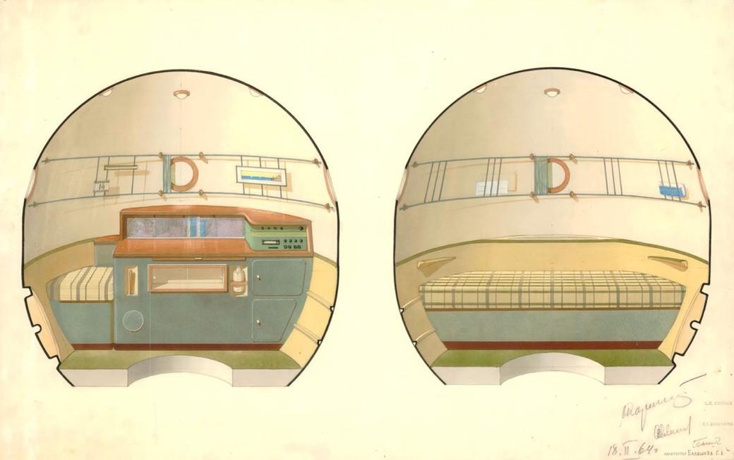 Soyuz (Union) Spaceship Orbital Compartment