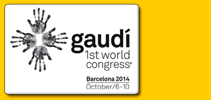 Gaudí 1st World Congress – Barcelona 2014