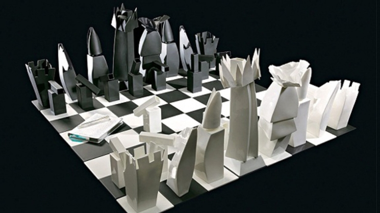gehry chess ajedrez