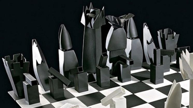 Frank Gehry diseña un ajedrez para Tiffany&Co