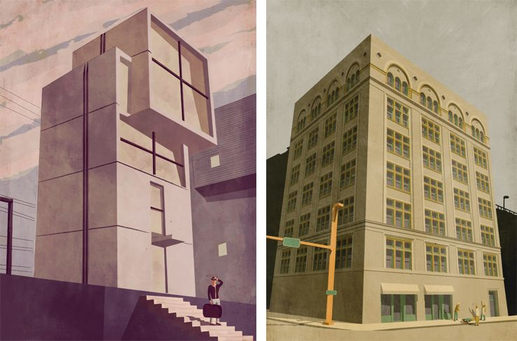 Giordano Poloni -  House in Kove - Conestoga Building, Pittsburgh