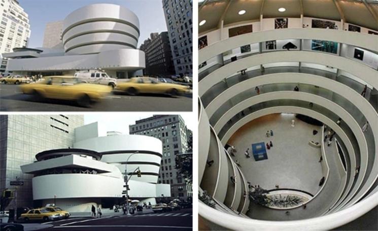 Guggenheim New York – Frank Lloyd Wright – (1.959)