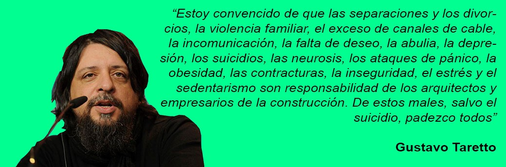 Gustavo Taretto medianeras director cine responsabilidad arquitectos