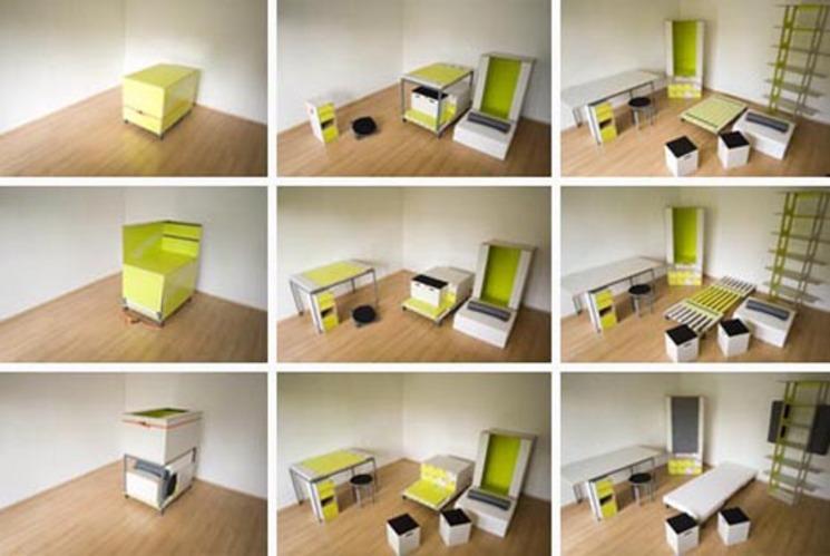 Habitación en una caja – Casulo