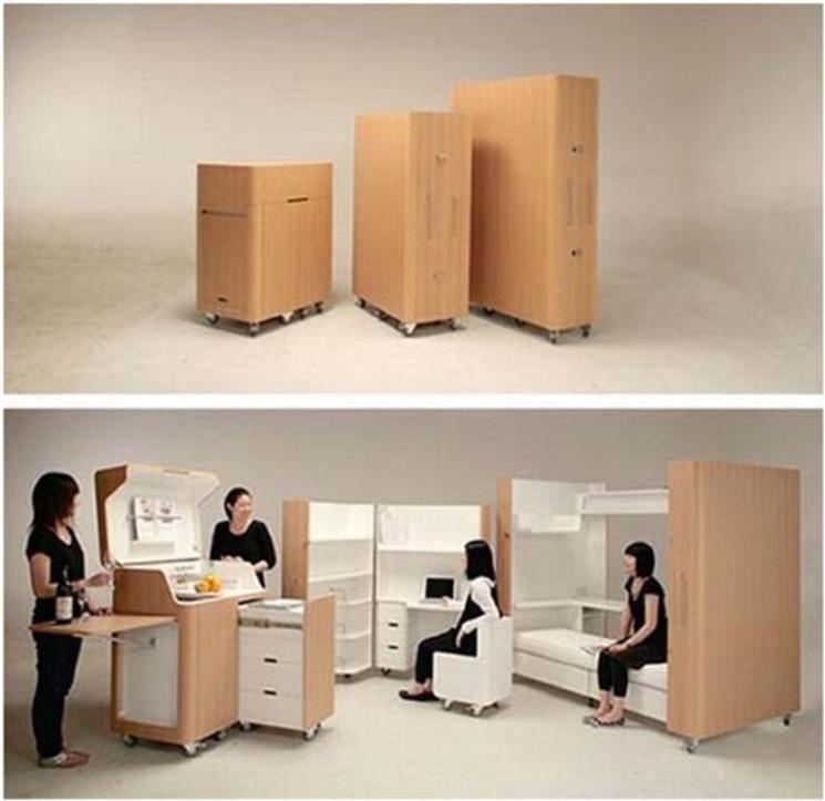 Mobiliario arquitectónico – Toshihiko Suzuki