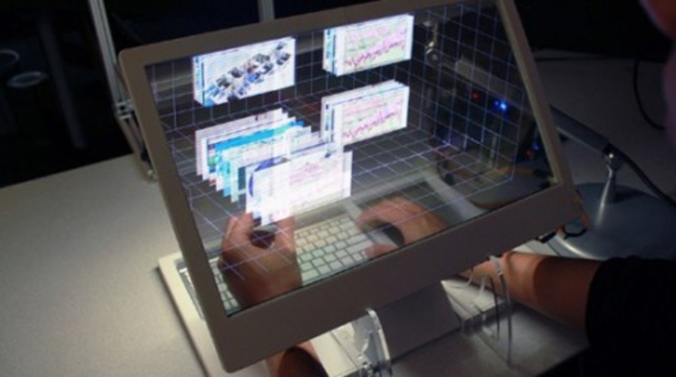 holobook escritorio holografico