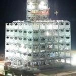 Impresionante video de la construcción de un edificio de 30 plantas en 360 horas