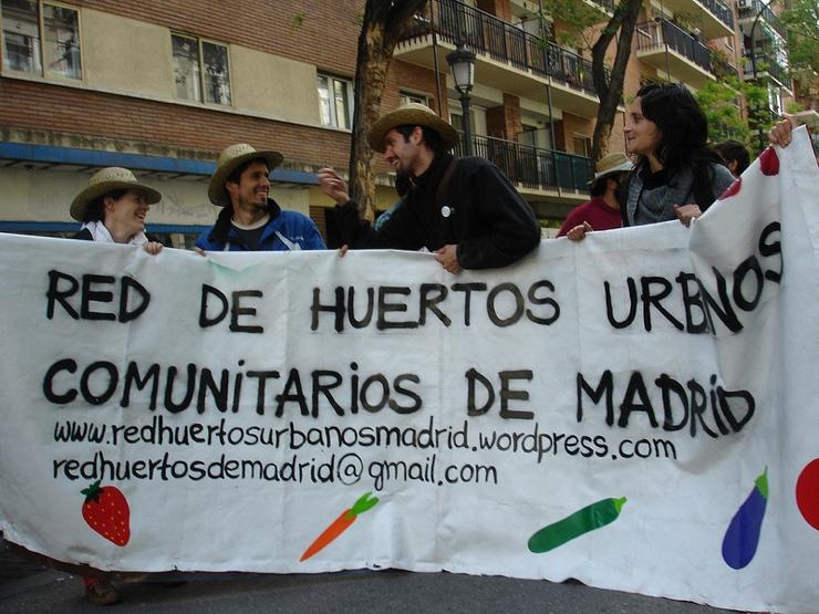 Red de Huertos Comunitarios Urbanos de Madrid