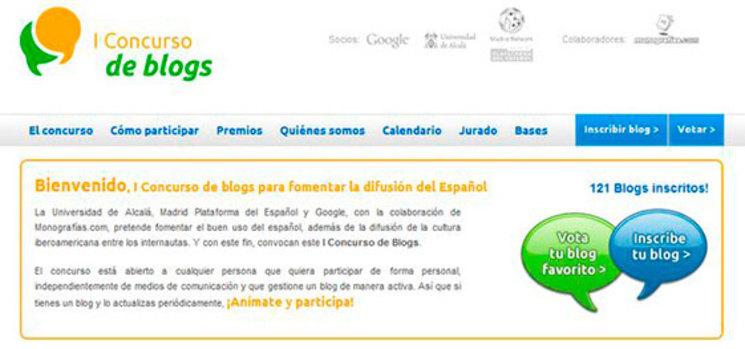 I Concurso de blogs