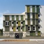48 viviendas ecológicas - ILOT E2 - Zac de la Dhyus por Atelier Tarabusi