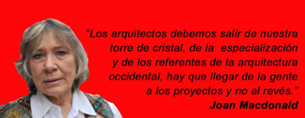 Joan Macdonald arquitecta proyectos