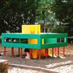 Juego infantil inspirado en la Villa Savoye