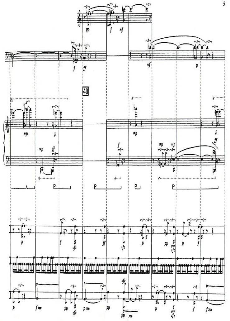 Karlheinz Stockhausen: Kreuzspiel Nr. 1/7 ue-35004