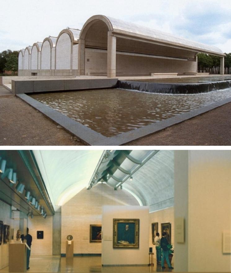 Museo de Arte Kimbell – Louis I. Kahn – (1.972)