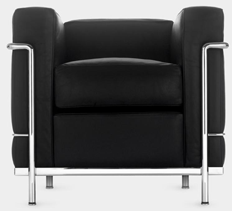 Sillón LC2 de Le Corbusier