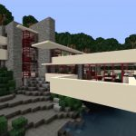 Cinco casas de Frank Lloyd Wright recreadas en Minecraft a todo detalle