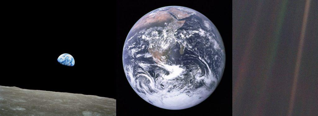 Un selfie de la Tierra desde el espacio. Completa, de día y cada pocas horas