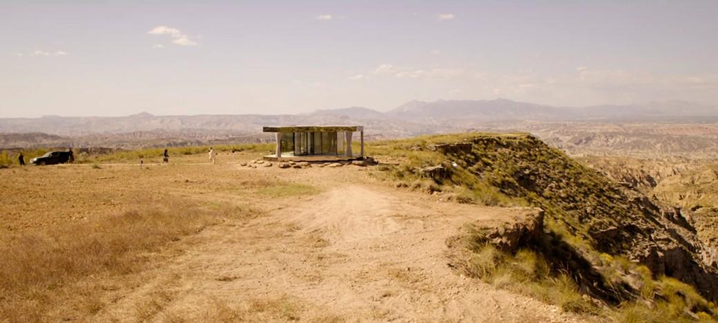 La casa del desierto black mirror