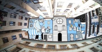 Lamadieu Thomas, vacíos arquitectónicos como lienzo