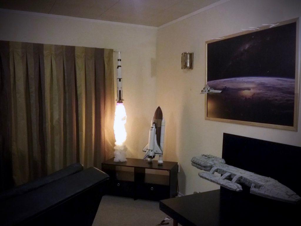 Lámpara Saturno V
