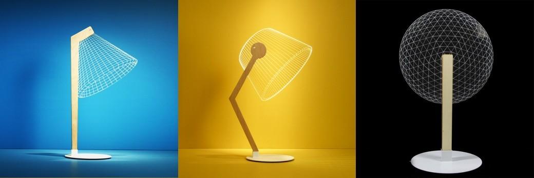 Lamparas led 3D - Clasico