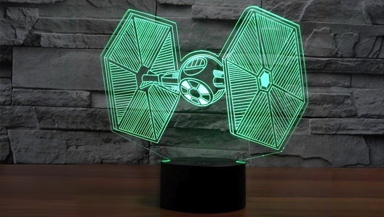 Lámparas led 3D para el rincón más friki de tu casa