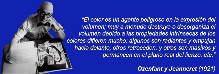 El color es un agente peligroso en la expresión del volumen