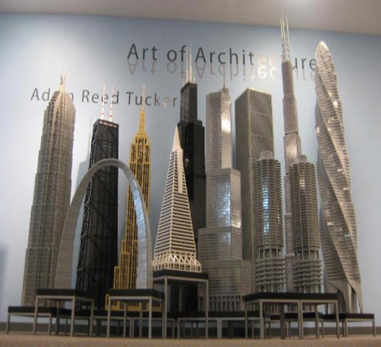 Rascacielos con LEGO