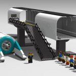 Un prototipo español de Hyperloop de Lego a la espera de convertirse en realidad