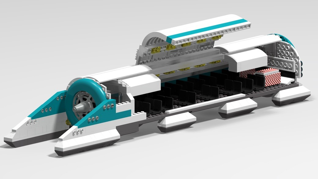 Hyperloop de Lego