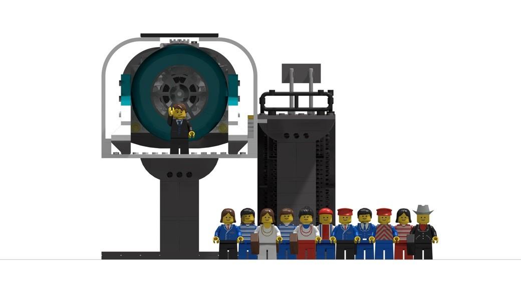 Hyperloop de Lego