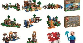 lego minecraft videojuego arquitectura
