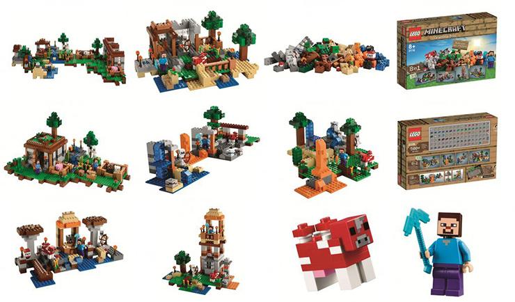 LEGO minecraft, del videojuego a la vida real