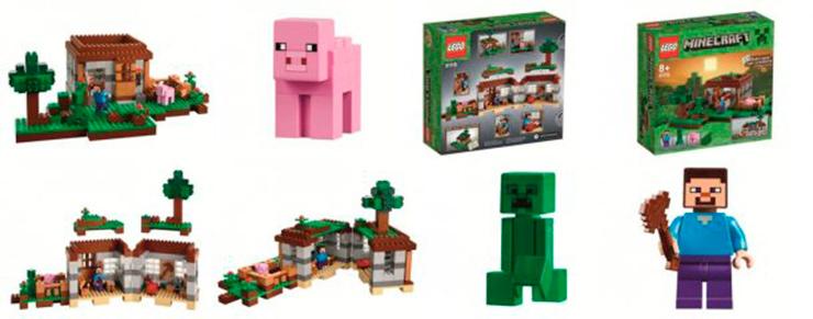 Lego minecraft del videojuego a la vida real for Videos de minecraft en la vida real
