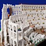 Coliseo Romano realizado con 200.000 piezas de LEGO©