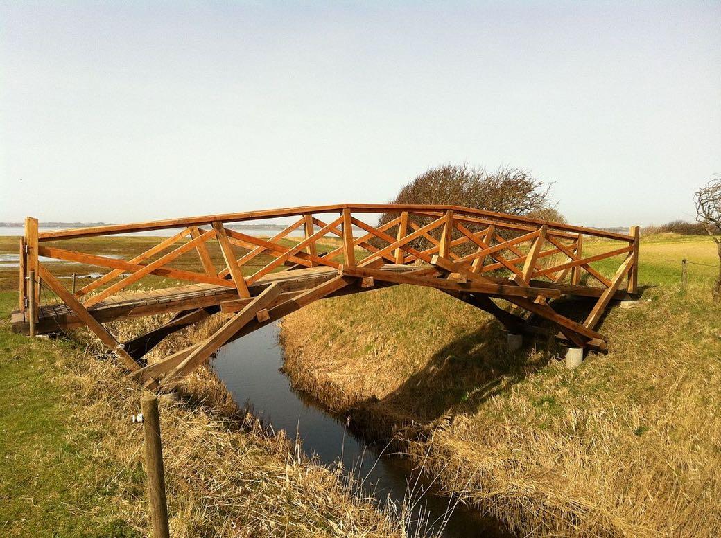 Puente Leonardo da Vinci en Dinamarca