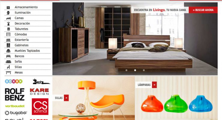 Livingo – Portal de mobiliario online