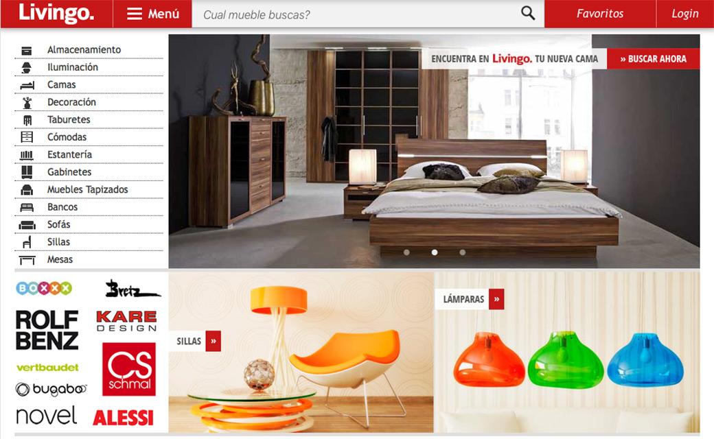 Livingo portal de mobiliario online for Paginas decoracion online