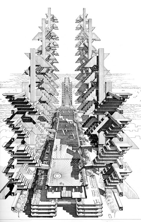 Lower Manhattan Expressway - Paul Rudolph